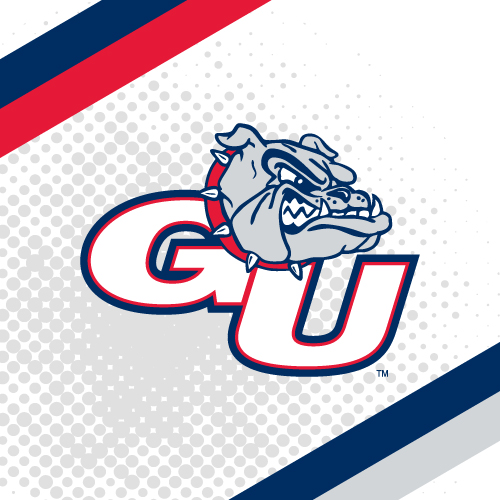 Gonzaga University College Teams Logo Series Product