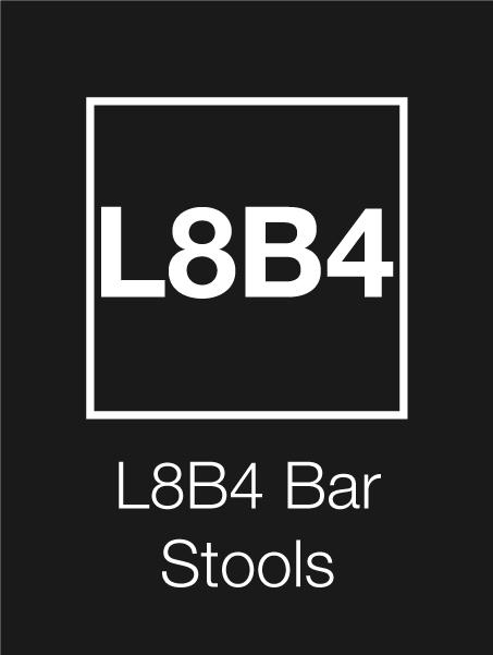 L8B4 Logo Bar Stools