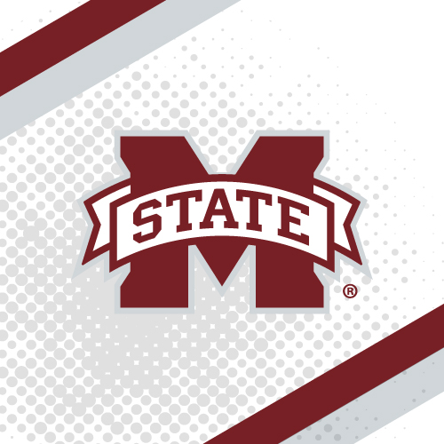 mississippi state university college teams logo series