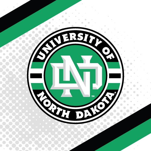 University Of North Dakota College Teams Logo Series