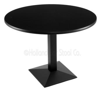 217 Black Wrinkle Table Set
