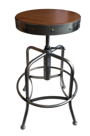 910 Industrial Adjustable Screw Stool with Black Wrinkle  : 910clmed from hollandbarstool.com size 363 x 545 jpeg 27kB