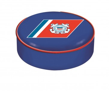 US Coast Guard Logo Bar Stool Seat Cover