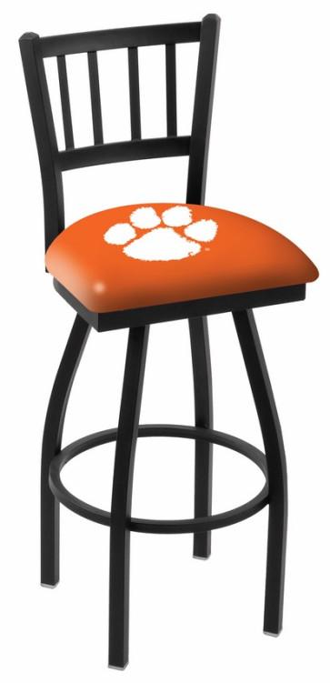 L018 Clemson University Logo Bar Stool