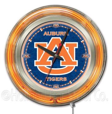 "15"" Neon Military Logo Clock"