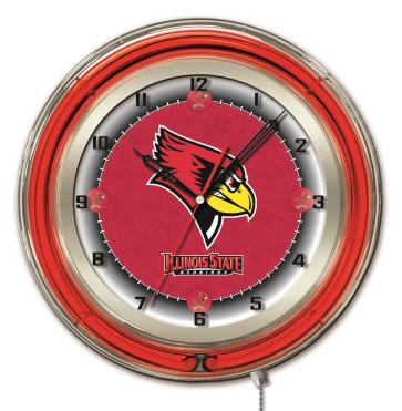 Illinois State 19 Inch Neon Clock