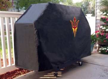 Arizona State Pitchfork Grill Cover Lifestyle