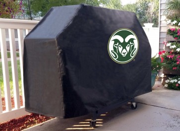 Colorado State Grill Cover Lifestyle
