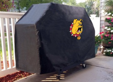 Ferris State Grill Cover Lifestyle