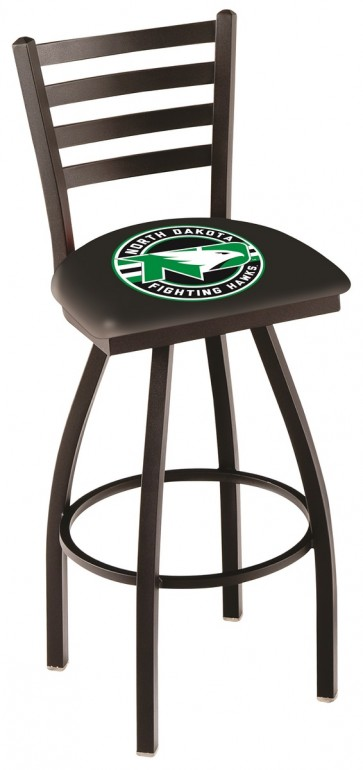 L014 University of North Dakota Logo Bar Stool