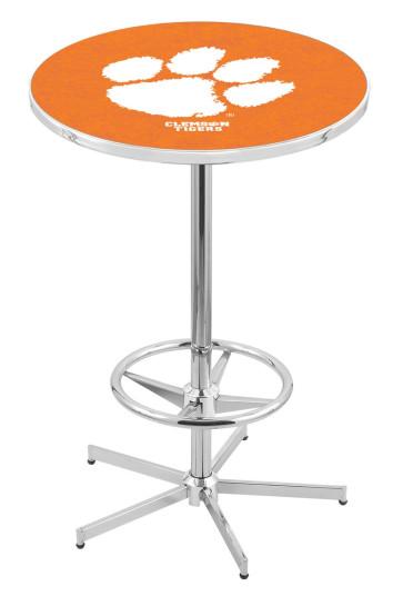 Clemson L216 Logo Pub Table