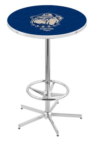 Georgetown L216 Logo Pub Table