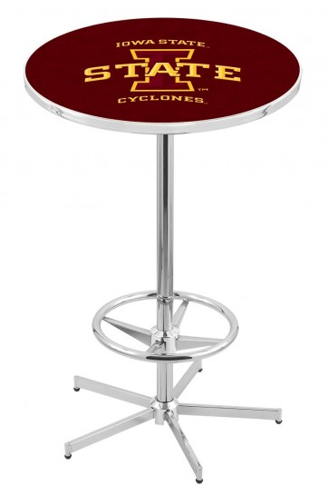 Iowa State L216 Logo Pub Table