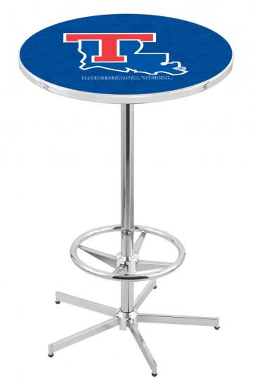 Louisiana Tech L216 Logo Pub Table