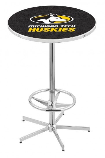 Michigan Tech L216 Logo Pub Table