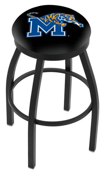 L8b2b University Of Memphis Logo Bar Stool