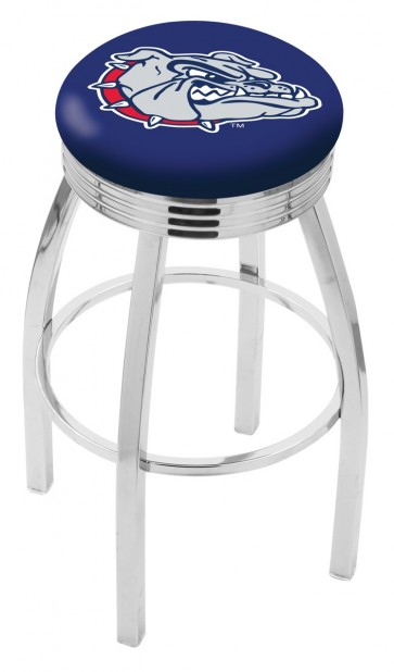 L8c3c Gonzaga University Logo Bar Stool
