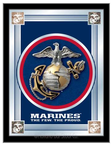 US Military Logo Mirror