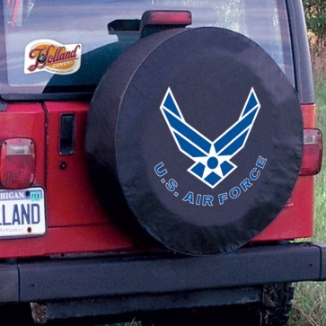 US Air Force Black Tire Cover Lifestyle