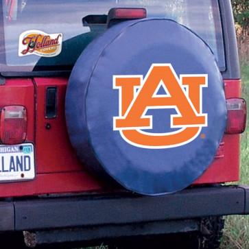 Auburn Navy Tire Cover Lifestyle