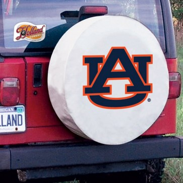 Auburn White Tire Cover Lifestyle
