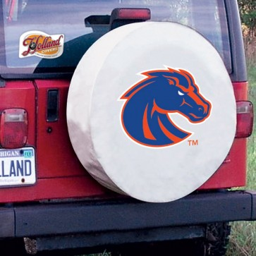 Boise State White Tire Cover Lifestyle