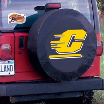 Central Michigan Black Tire Cover Lifestyle