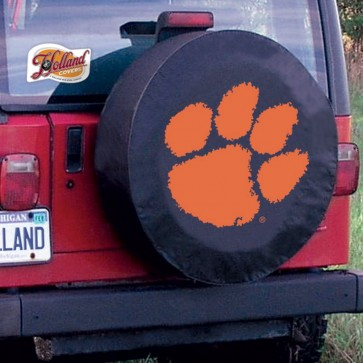 Clemson Black Tire Cover Lifestyle