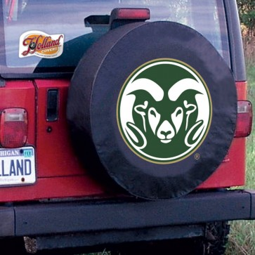 Colorado State Black Tire Cover Lifestyle