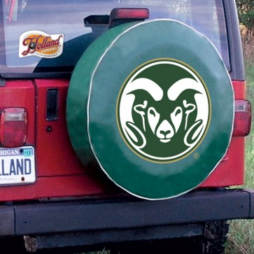 Colorado State Green Tire Cover Lifestyle