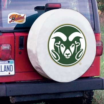 Colorado State White Tire Cover Lifestyle