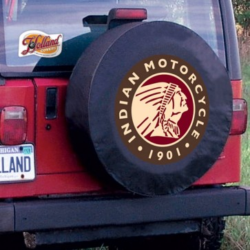 Indian Motorcycles Tire Cover Black