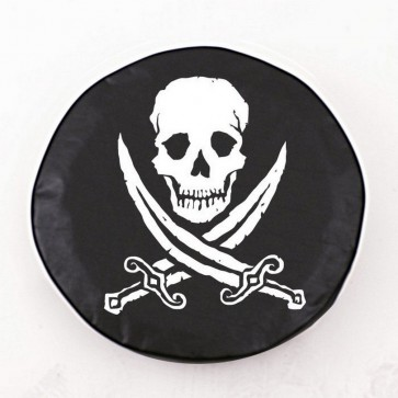 Jolly Roger (rough) Logo Tire Cover