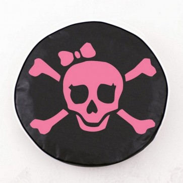 Pirate Girl (Pink) Logo Tire Cover
