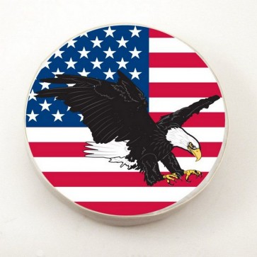 USA Eagle Logo Tire Cover