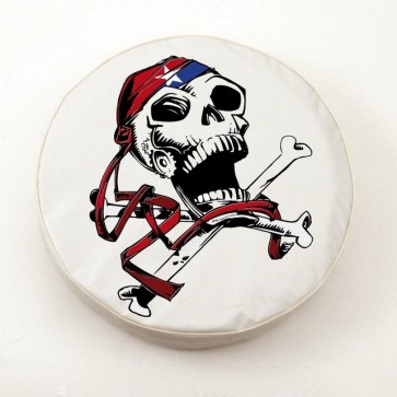USA Pirate Logo Tire Cover