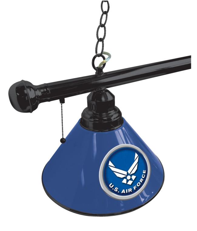 us air force logo billiard light. Black Bedroom Furniture Sets. Home Design Ideas