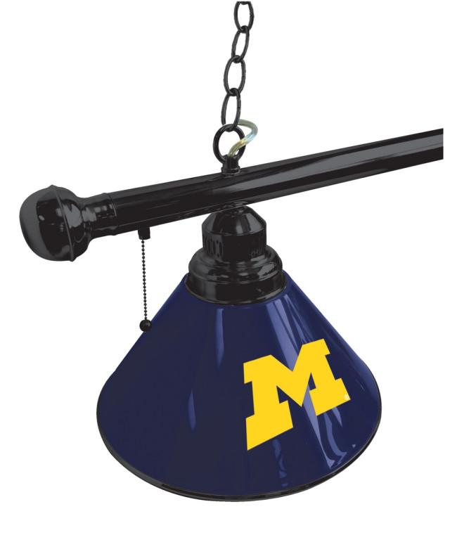 University Of Michigan Logo Billiard Light