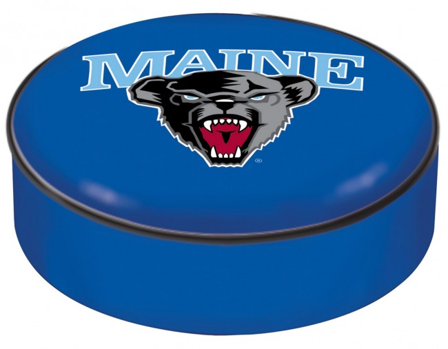 University Of Maine Logo Bar Stool Seat Cover