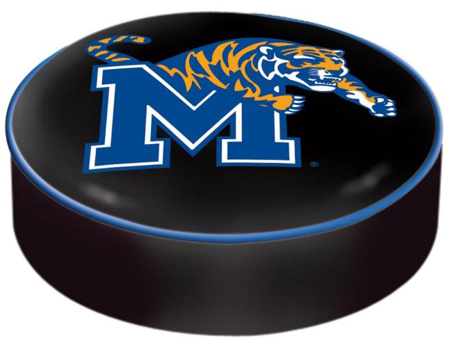 University Of Memphis Logo Bar Stool Seat Cover