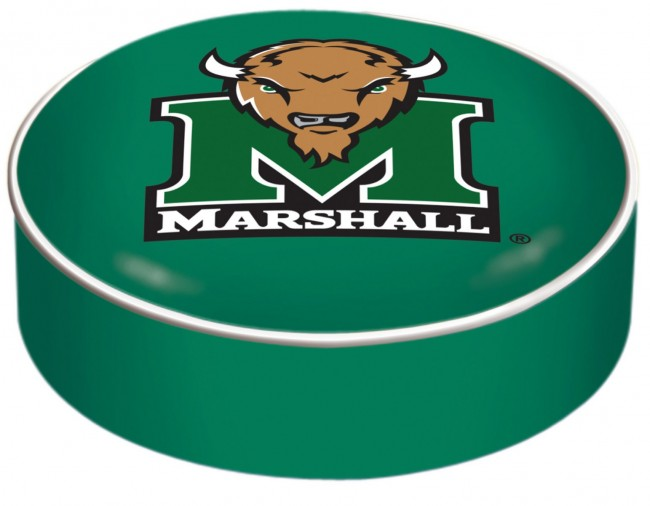 Marshall University Logo Bar Stool Seat Cover
