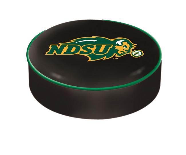 North Dakota State University Black Logo Bar Stool Seat Cover