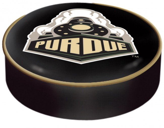 Purdue University Logo Bar Stool Seat Cover