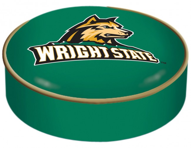 Wright State University Logo Bar Stool Seat Cover