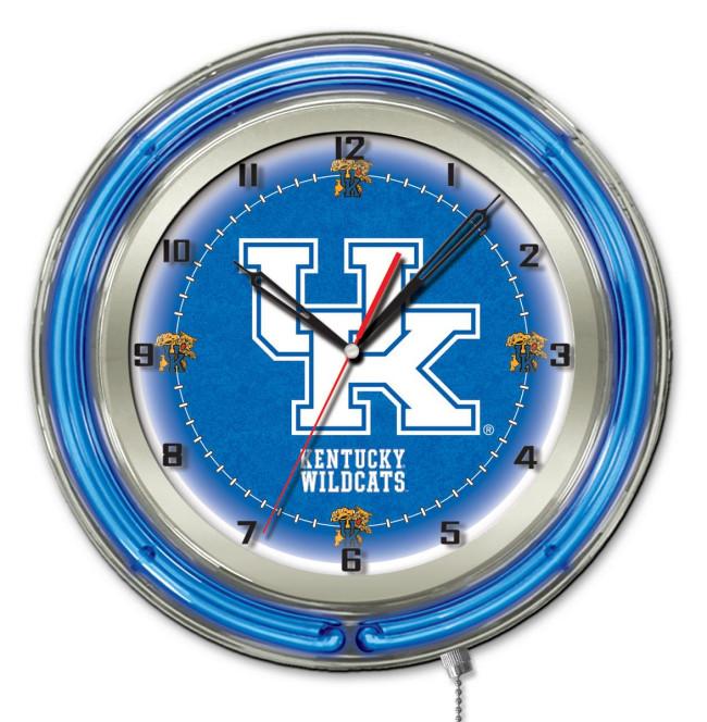 19 Inch Neon University Of Kentucky Uk Block Logo Clock