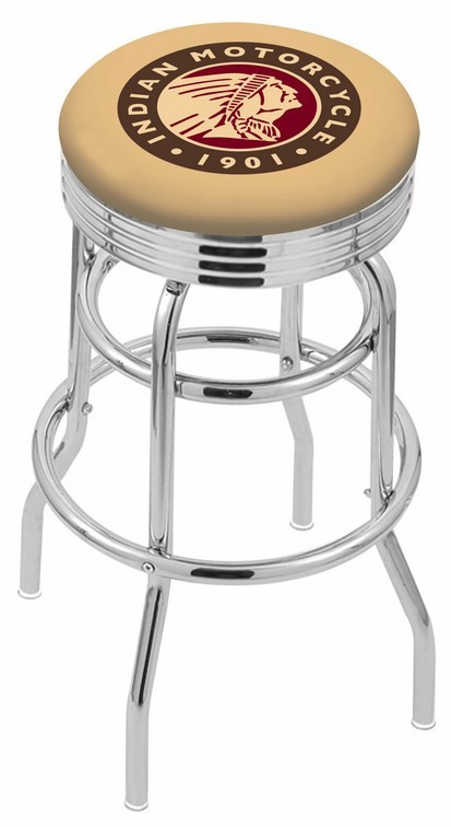 Remarkable L7C3C Indian Motorcycles Logo Bar Stool Caraccident5 Cool Chair Designs And Ideas Caraccident5Info