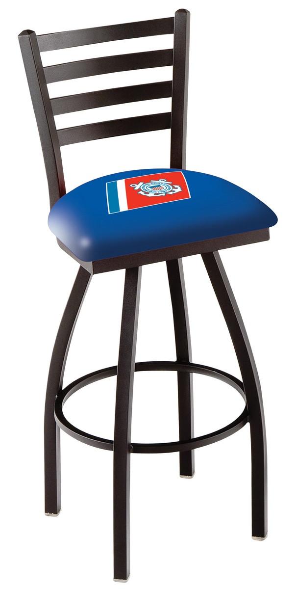 L014 US Coast Guard Logo Bar Stool : l014cstgrd2 from hollandbarstool.com size 604 x 1200 jpeg 83kB