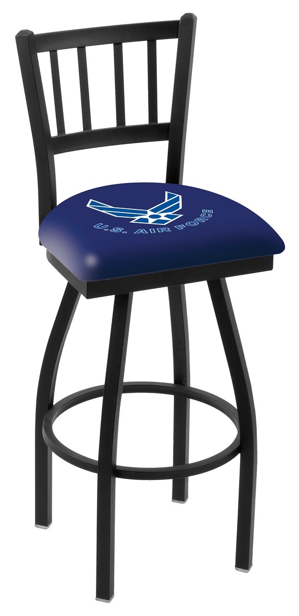 L018 US Air Force Logo Bar Stool : l018airfor2 from hollandbarstool.com size 583 x 1200 jpeg 72kB