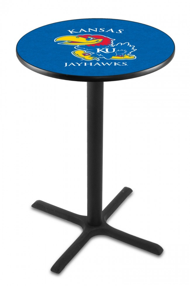 L211 University Of Kansas Logo Pub Table