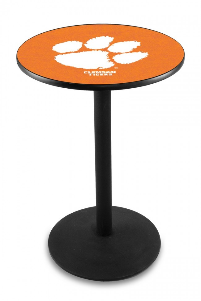 L214 Clemson University Logo Pub Table